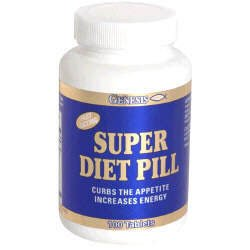 Genesis Nutrition Super Diet Pill -- 100 Tablets