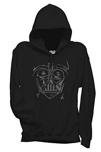 FELPA DARTH VADER FACE-FILM by MUSH Dress Your Style - Donna-M-NERA