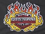 NEOPlex 3' x 5' Harley Davidson Flame Yellow Flag