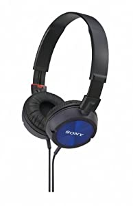 Sony MDRZX300L Fashionable Monitor Style Headphones - Blue
