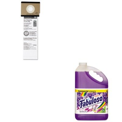 Kitcpm04307Eaeuk63262B10 - Value Kit - Eureka Sanitaire Series Upright Vacuum Cleaner Replacement Bags (Euk63262B10) And Fabuloso All-Purpose Cleaner (Cpm04307Ea) front-146137