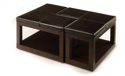 Pieces L-Shaped Coffee Table Ottoman Part No. 3250-30