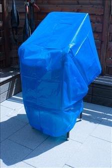 Gartenmöbelschutz-Spezial-Schutzplane-Abdeckung-Schutzfolie 90g/m² extrem stark reissfest UV beständig (2x2 Meter)