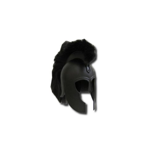 Armor Venue Troy Helmet Black - Greek Armor Costume - Black - One Size