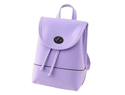 KYZ-Women-Girl-PU-Shoulderbag-School-Backpack-Handbag-Small-Bagpack