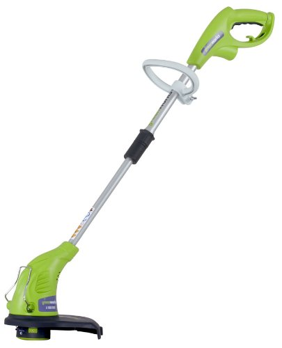 "Learn More About GreenWorks 21212 4 Amp 13"" Corded String Trimmer"