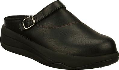 Skechers Women's Tone Ups Chalet Power Up Wedge Heels (8, Black)