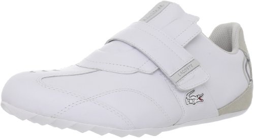 Lacoste Swerve Men's Shoes Strap Sneakers White Size 10