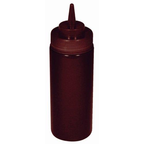 Brown Squeeze Sauce Bottle Brown. Kapazität: 8 Unzen Weich und flexibel Polyethylen.