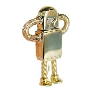 High Quality 8 GB Metal Robot Shape USB Flash Memory Drive from T &  J