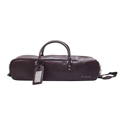 Korin Brown Leather Knife Bag