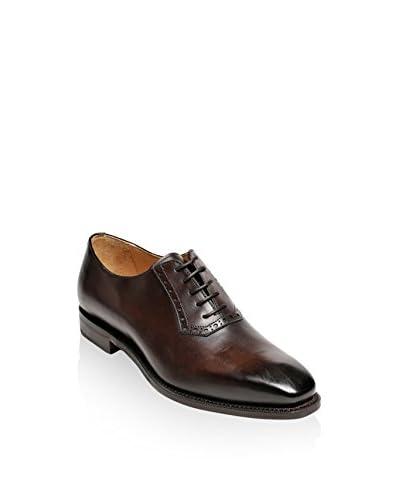 British Passport Zapatos Plain Wholecut Dark Brown Goodyear