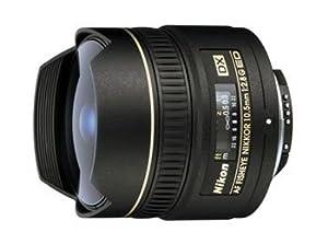 Nikon 10.5mm f/2.8G ED Auto Focus DX Fisheye Nikkor Lens - Fixed