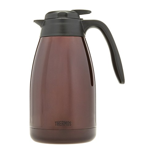 Thermos 51 Ounce Brown Vacuum Insulated Stainless Steel Carafe (Insulated Coffe Pot compare prices)