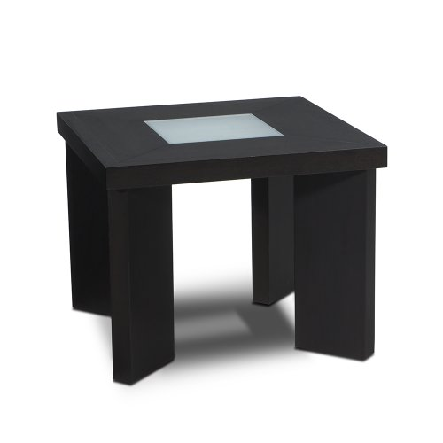 Cheap Avenue Six Intersection Wenge/Frosted Glass End Table (B000U0QFOU)