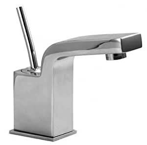 Aqua Brass Aquabrass Single Hole Faucet 28014wh White