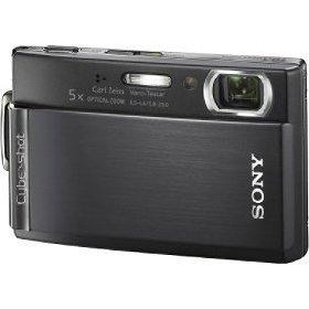 Sony Cybershot DSCT300/B Digital Camera with 5x Optical Zoom with Super Steady Shot (Black) 10.1MP