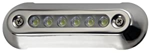 Attwood LED Underwater Lights 5-Inch Series Stainless Steel Bezel (Blue LED)