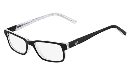 Glasses Frame Black And White : X Games Real Street Eyeglasses 002 Matte Black White Demo ...