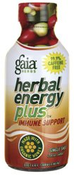 Herbal Energy Plus Immune Support Shot Gaia Herbs 2 fl oz Liquid