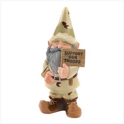 Support Our Troops Gnome - Style 39627