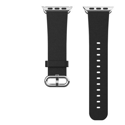 apple-watch-band-hix-genuine-leather-strap-wrist-band-replacement-w-metal-clasp-for-apple-watchblack