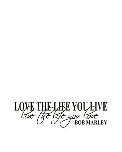 LO + demoda Muursticker Bob Marley