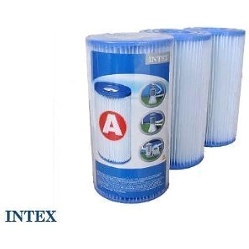 INTEX 정화 펌프용 필터 카트리지 #59903CF 3 개세트-#59903CF