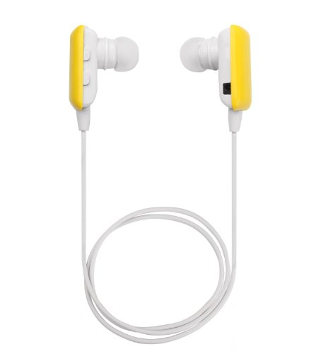 Senbowe™ Mini Yellow Wireless Stereo Bluetooth Headset Headphone Earphone Earpiece Earbud With Microphone Mic, A2Dp, Noise Cancellation, Music Remote Control, Great Compatible With Ipad 1/2/3, New Ipad, Ipod And Samsung Galaxy S2/S3/S4/S5 And Apple Iphone