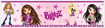 Bratz Peel and Stick Wall Border