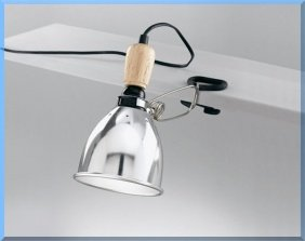 FARETTO SNODATO A PINZA - M.5664 -: Amazon.it: Illuminazione