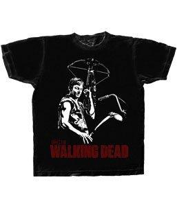 The Walking Dead Daryl Dixon Men's Black T-shirt X-Large