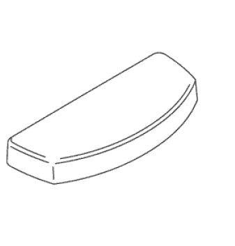 Kohler 1036367-96 1 1 Replacement Part 11 Part Number 1 Is A Tank Cover Biscuit Finish For Toilets front-629116