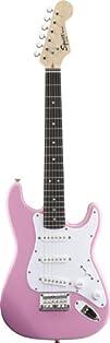 Fender Squierreg Mini Stratocasterreg Electric Guitar Pink