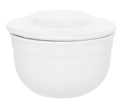 Emile Henry Butter Pot, White