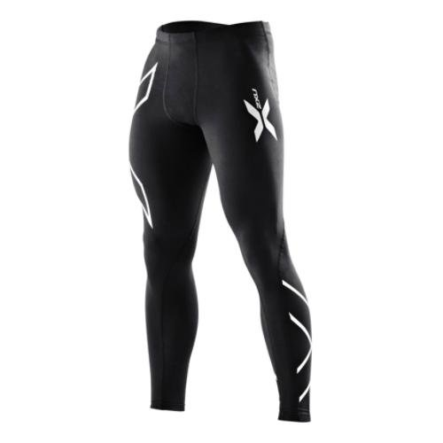 2XU 2XU Men's Compression Tights, XXX-Large, Black/Black