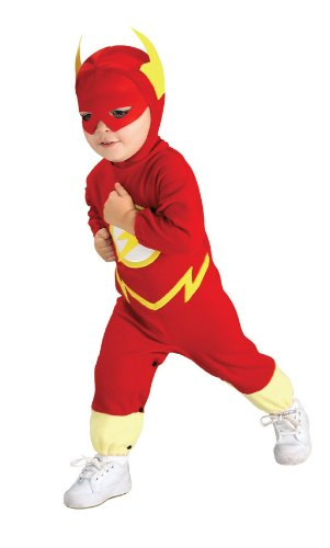 Deluxe Infant The Flash Costume - Infant Superhero Costumes