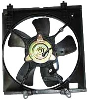 TYC 600510 Mitsubishi Lancer Replacement Radiator Cooling Fan Assembly from TYC