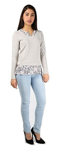 ladies-ex-high-street-marks-spencer-floral-chiffon-frill-mock-layered-long-sleeve-top-12