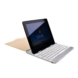 PortaCell Apple iPad2 Keyboard Dock with Wireless Bluetooth Keyboard for Apple iPad 2 3G WIFI Tablet