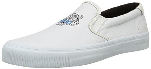 Kenzo - Velvet, Sneakers da uomo, bianco (white), 45
