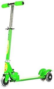 Saffire Kids Scooter with Lightning Wheels, Green
