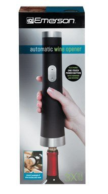 Emerson Electric Wine Opener, Metal, Rubber (16413350042), Garden, Lawn, Maintenance