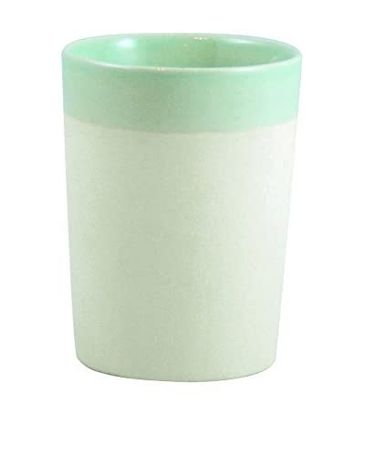 Canvas Home Shell Bisque Tumbler in Seafoam