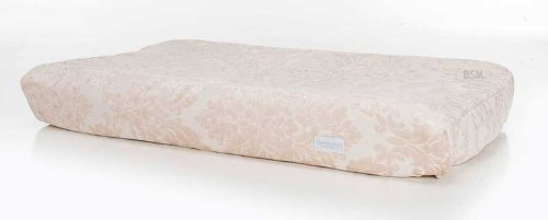 Glenna Jean Ribbons & Roses Changing Pad Cover front-227434