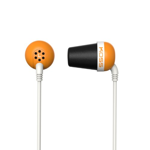 Koss The Plug The Plug In-Ear Headphones, Orange