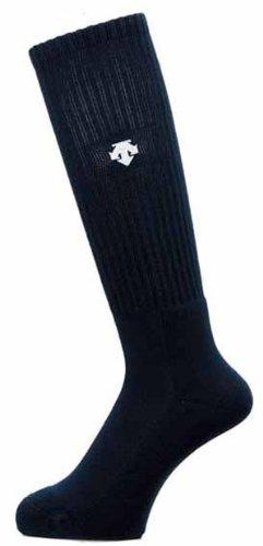 Rodilla DESCENTE (Descente) calcetines DVB-8124 BLK 23-25