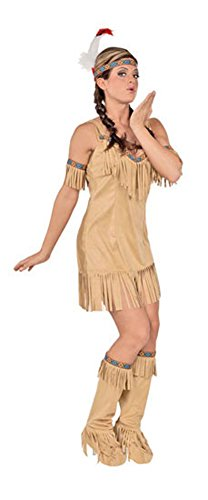 Native Princess Sm Halloween Costume - Adult Small
