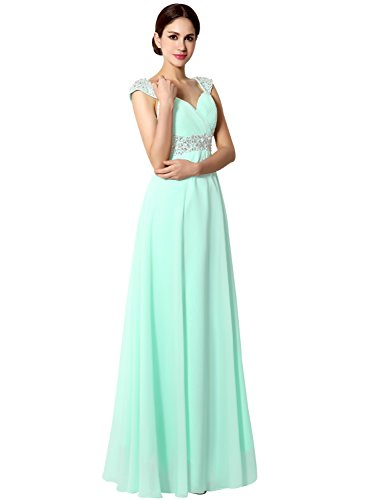Sarahbridal-Womens-Long-Chiffon-A-line-Beading-Bridesmaid-Dress-Prom-Gown-SD072