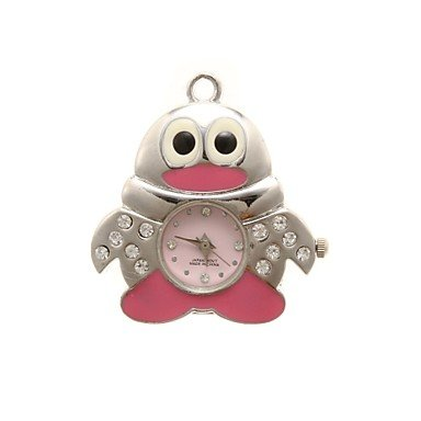 Zcl Zp 64Gb Cartoon Owl Pattern Crystal Jewelry Style With Clock Usb Flash Drive
